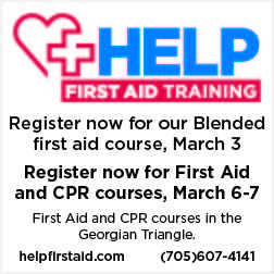 HELP First Aid upcoming courses